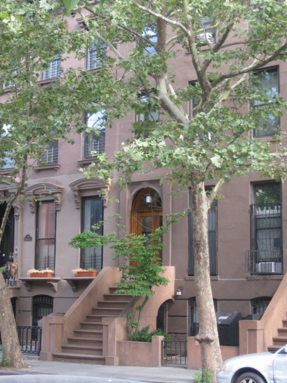 Brownstone building in Brooklyn