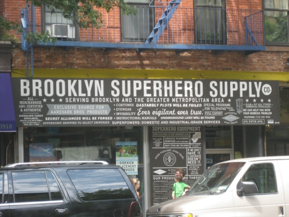 For all your superheroing needs...