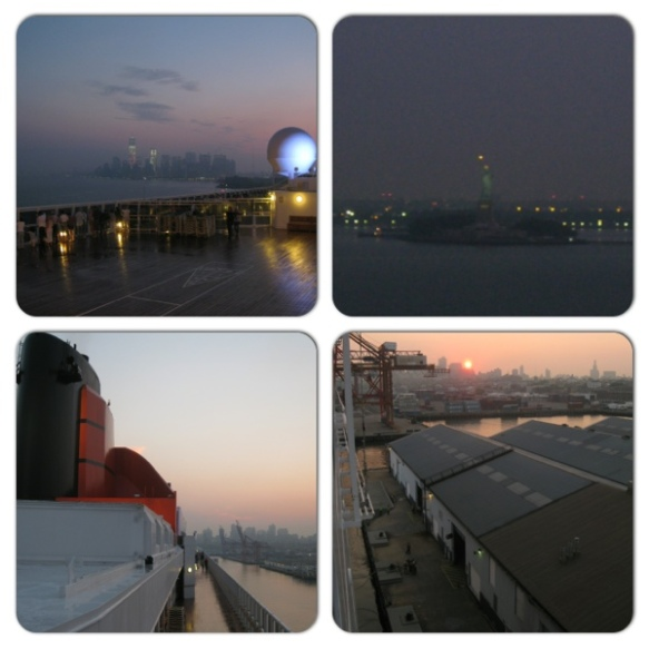 Dawn over Manhattan