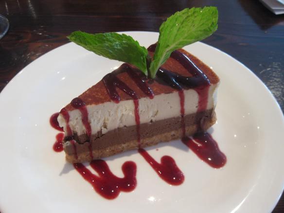 Gluten and dairy free dessert at Bistango