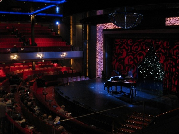 The Royal Court Theatre aboard the Queen Mary 2