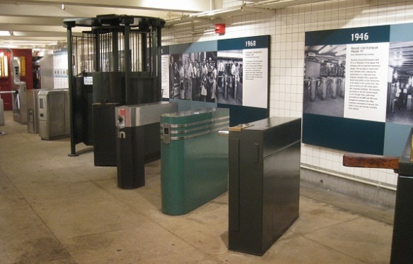 turnstiles through the ages