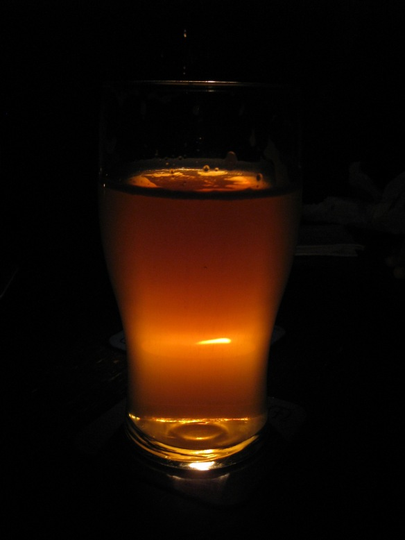 cider by candle-light