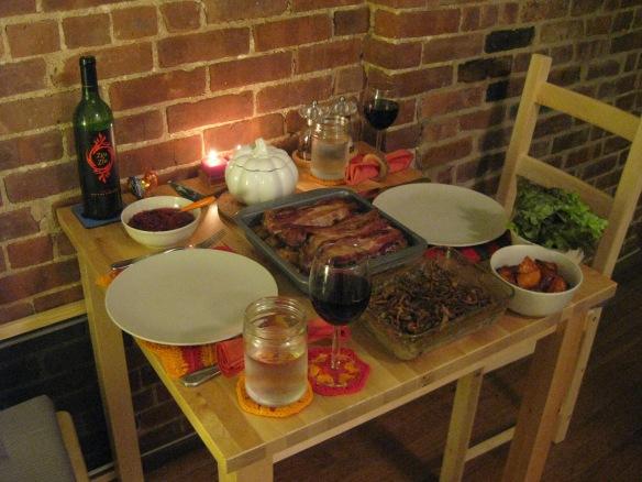 our 2012 Thanksgiving dinner