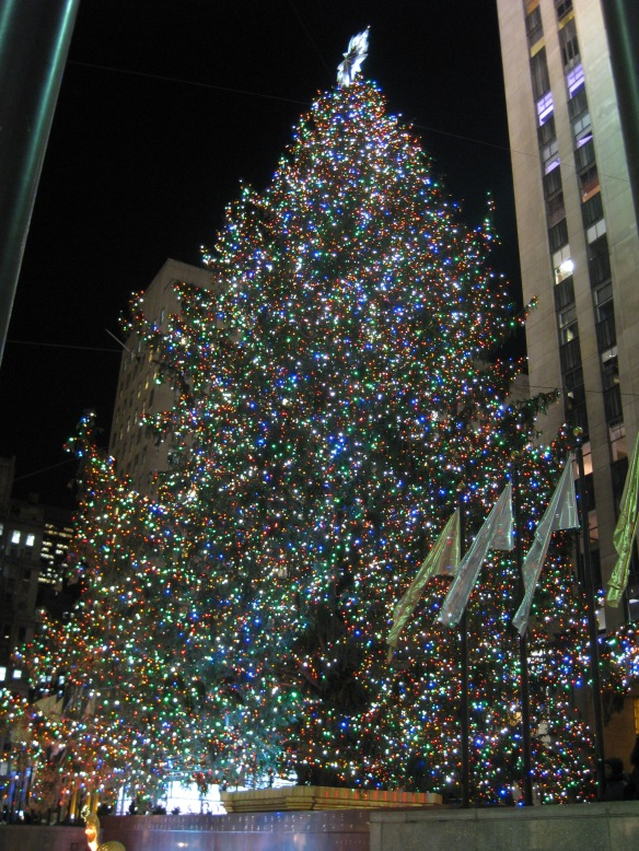 Rockefeller Plaza tree
