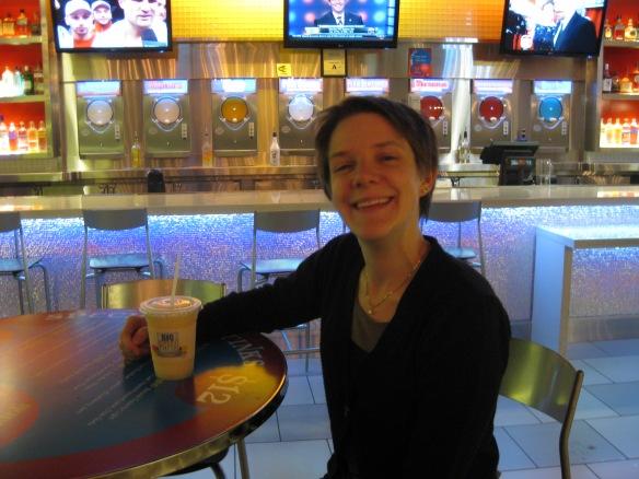 frozen cocktails bar in Vegas