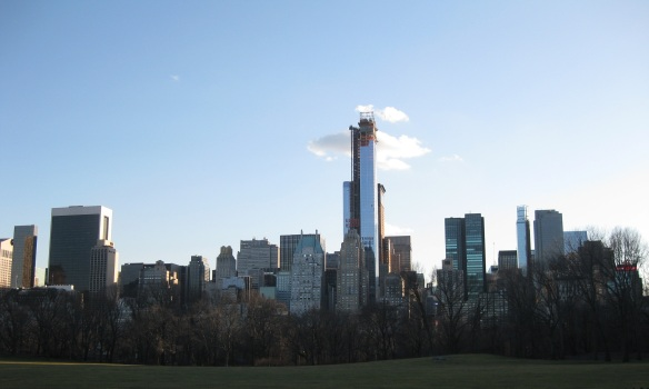 Gratuitous skyline shot from Central Park