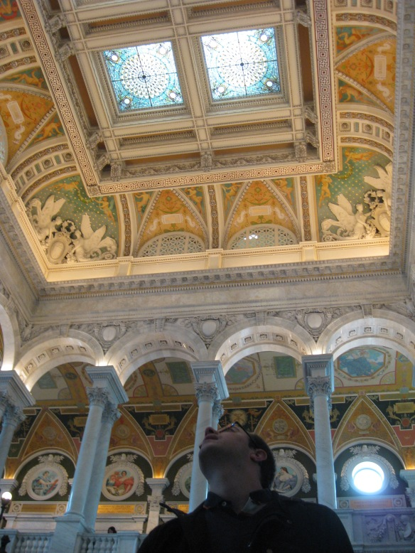 Ceiling in the Library of Congress Jefferson building