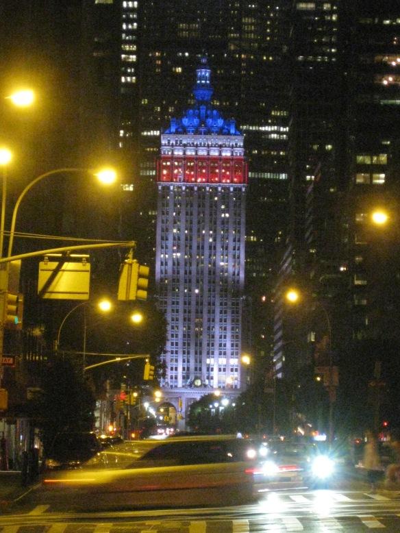 patriotic Helmsley Building