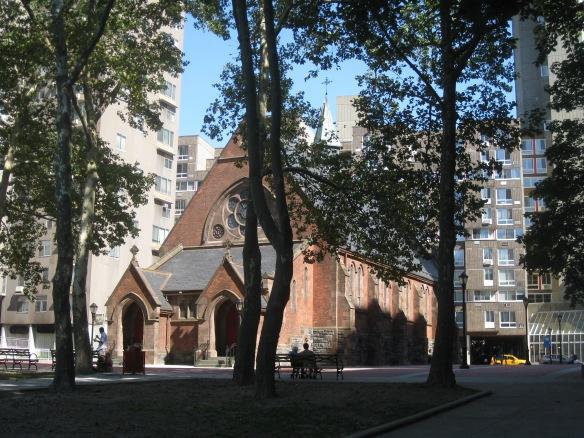 Good Shepherd chapel on Roosevelt Island