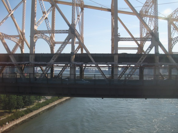 Queensboro bridge from the Roosevelt Island tramway