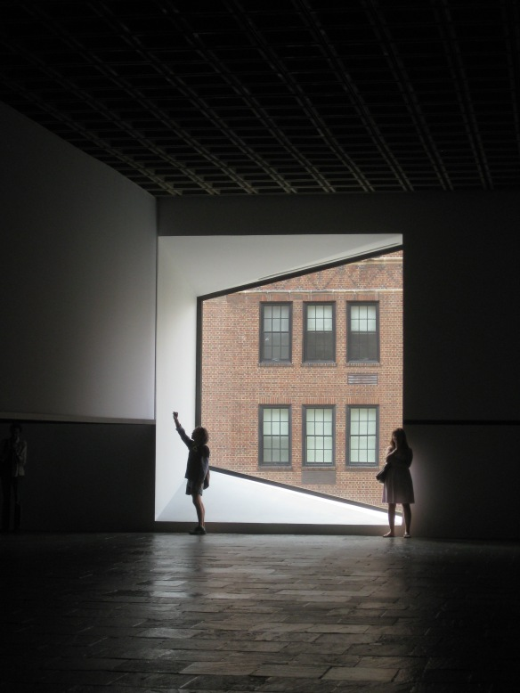 Irwin installation at the Whitney
