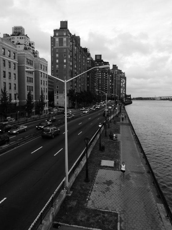 East river monochrome