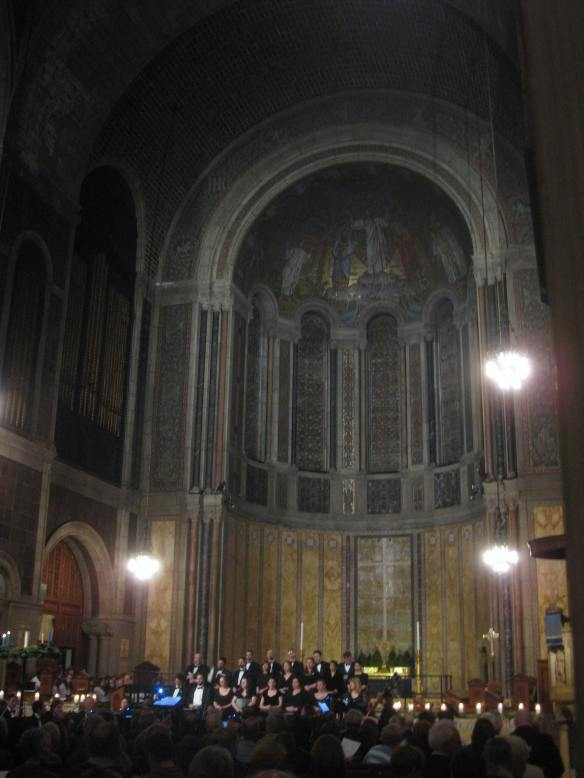 St Barts carol concert
