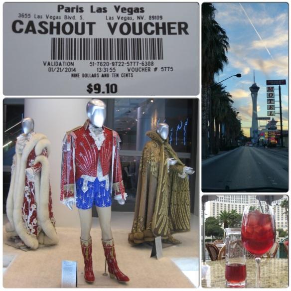 Vegas collage