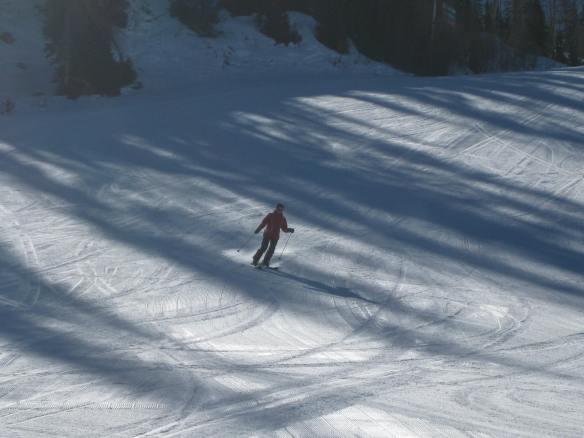 Emma skiing at Brian Head