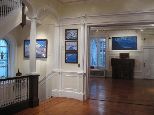 Nicholas Roerich museum interior