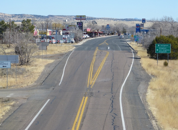 Seligman Arizona, and the famous Route 66