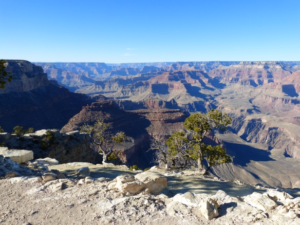 first sight of the Grand Canyon