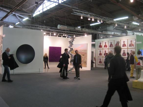 Contemporary art at the Armory show