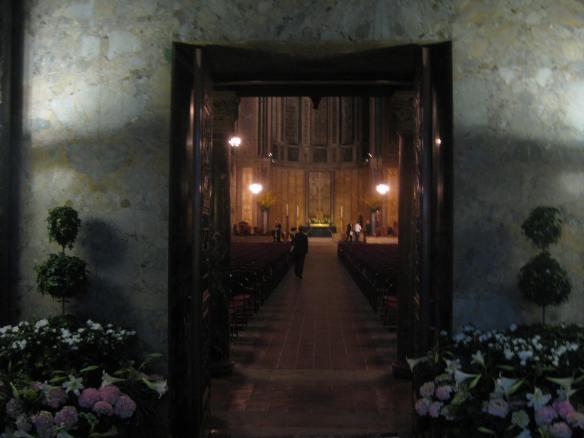St Bart's Easter interior