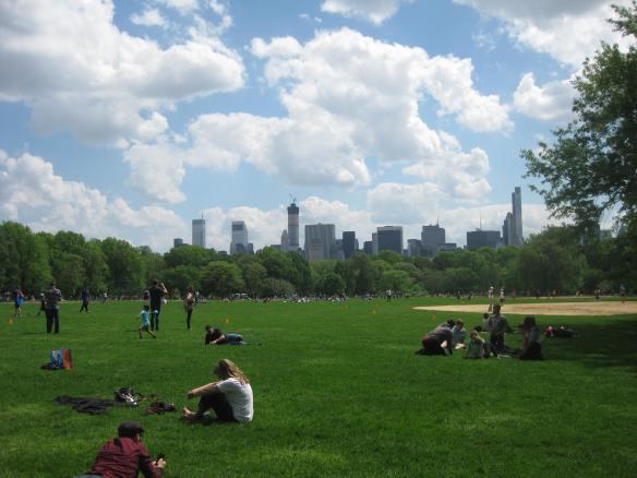 Saturday fun in Central Park