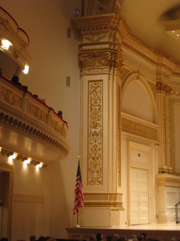 Carnegie Hall interior