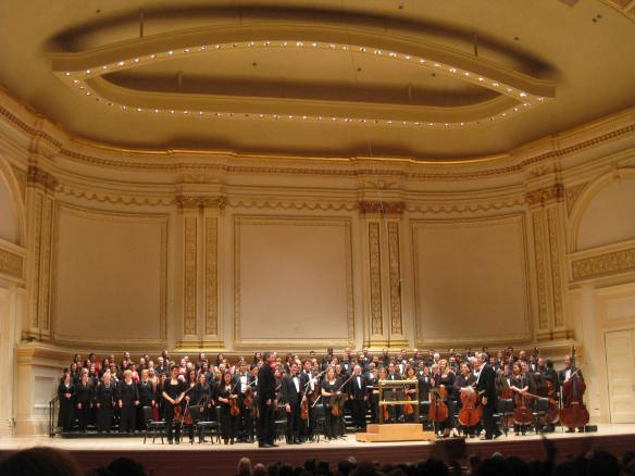 MCP Gjeilo concert at Carnegie Hall