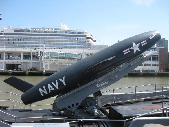 cruise missile and cruise ship