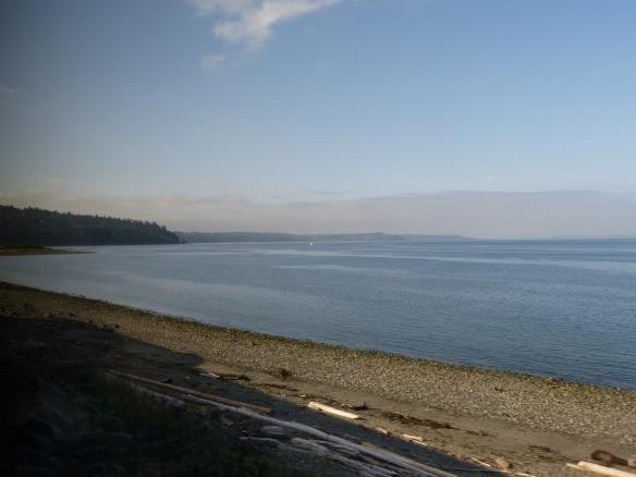 Puget Sound, north of Seattle