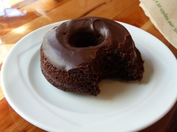 wonderful gluten free vegan doughnut from Cartems