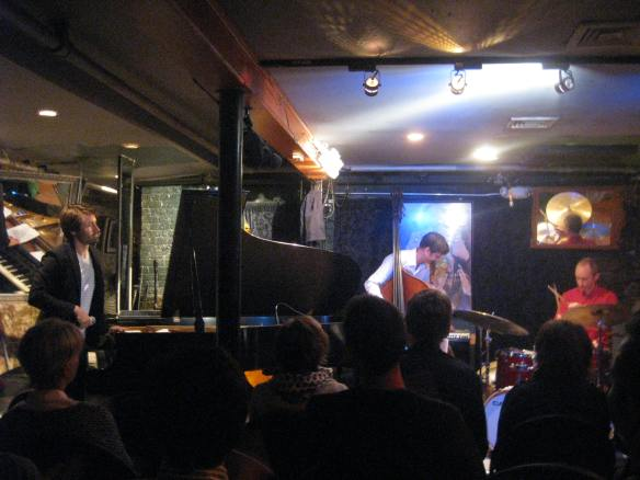 the Dan Tepfer trio at Smalls