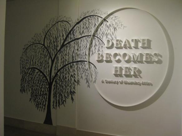 Death Becomes Her signage