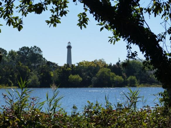 lighthouse and lake