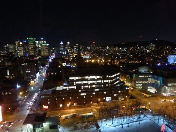 Montreal view from the 22nd floor