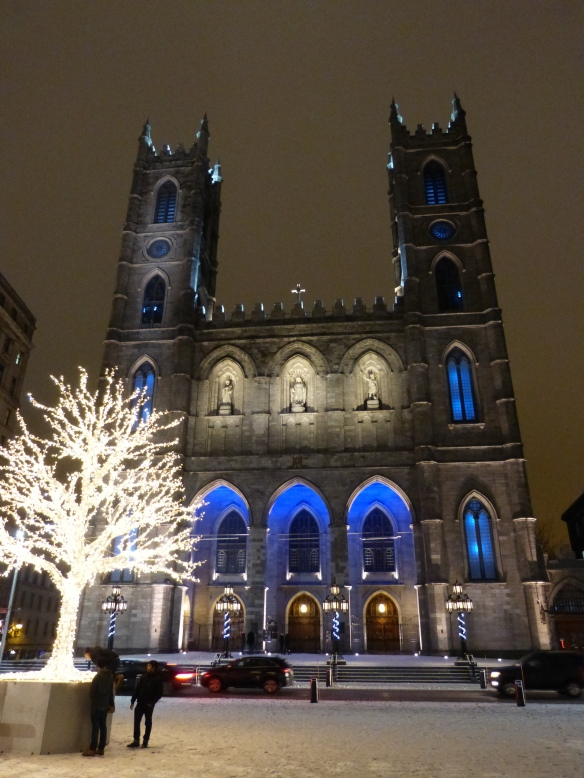 Basilica in the snow