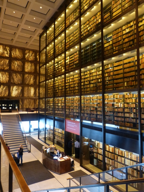 Beinecke interior