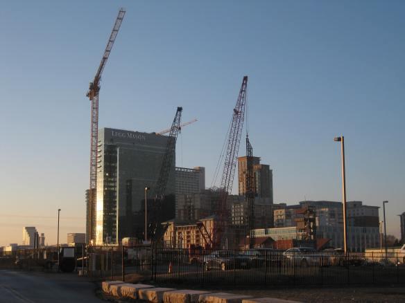 inner harbor construction