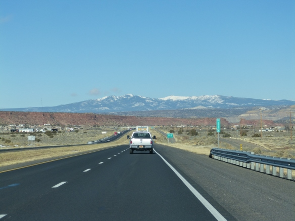Interstate in New Mexico