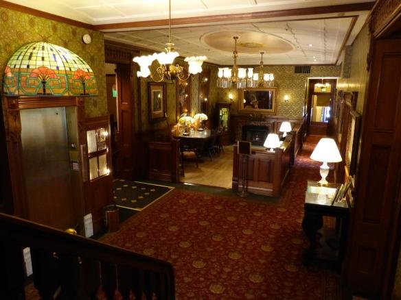 Hotel Strater interior