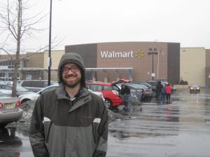 Tom at Walmart
