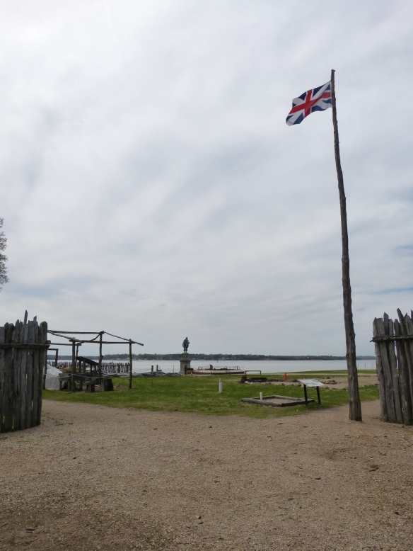 Historic Jamestown fort