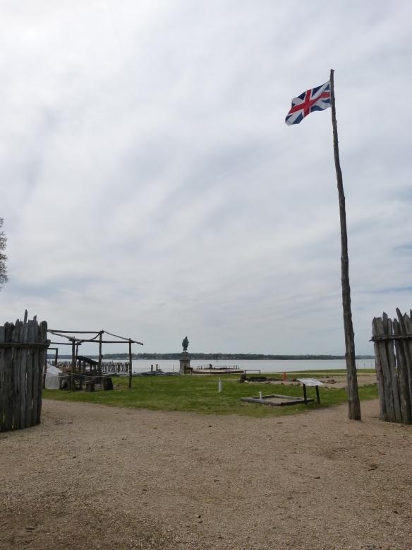 Historic Jamestown fort