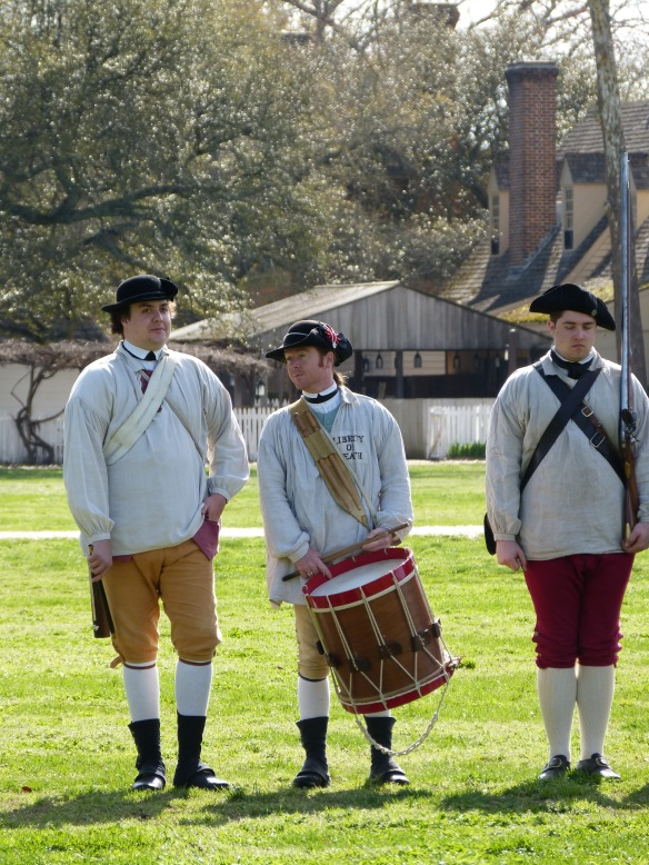 part of the Williamsburg militia