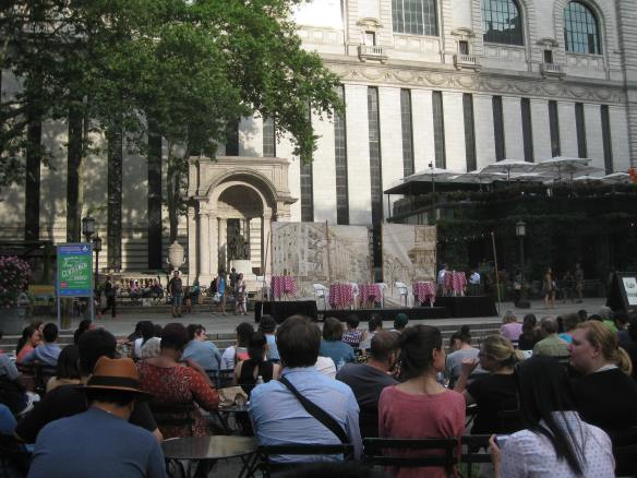 Two Gentlemen of Verona in Bryant Park