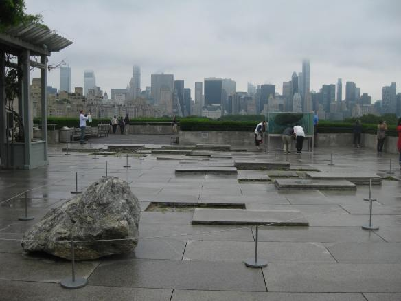 Pierre Huyghe installation at the Met