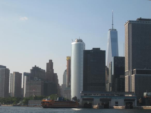 southern Manhattan from the water