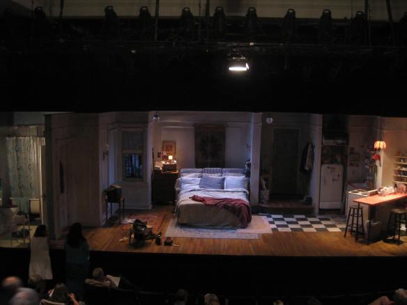 stage set in Stockbridge