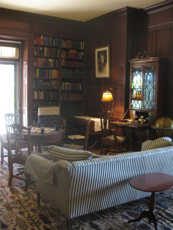 family room at Naumkeag