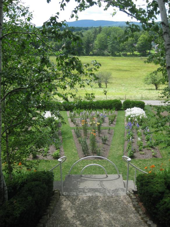 cutting garden at Namkeag